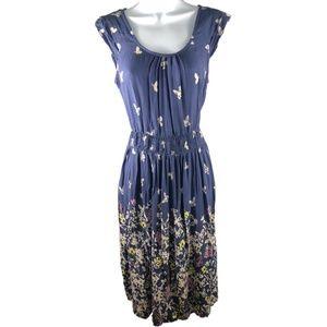 Dorothy Perkins Butterfly Dress  Cap Sleeve